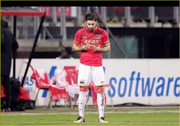 شروع حرفه ای فوتبال علیرضا جهانبخش