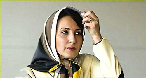 فاطمه گودرزی بازیگر نقش گیتی در سریال ممنوعه