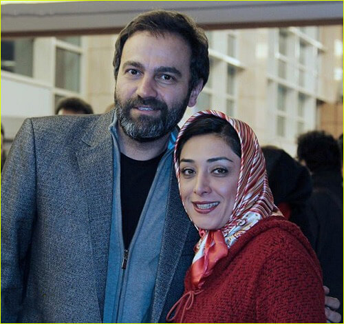آرش مجیدی و همسرش میلیشیا مهدی نژاد