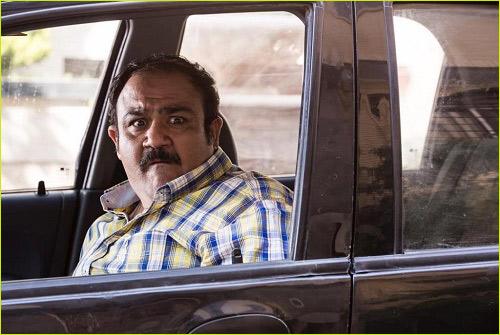 مهران غفوریان در فیلم 50 کیلو آلبالو