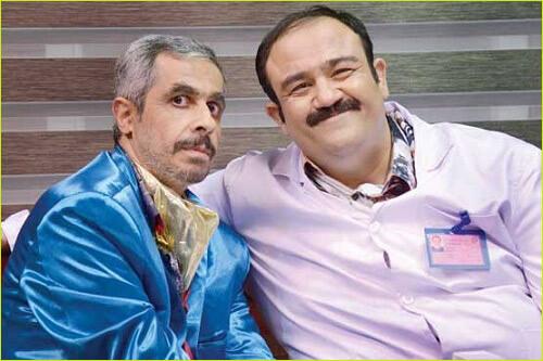 مهران غفوریان در سریال در حاشیه
