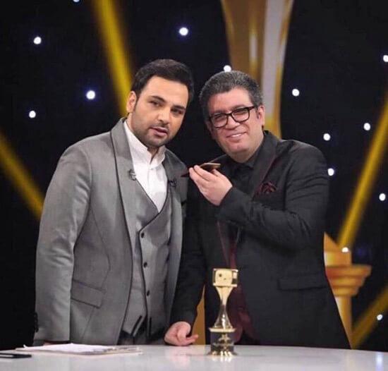 احسان علیخانی و رضا رشیدپور