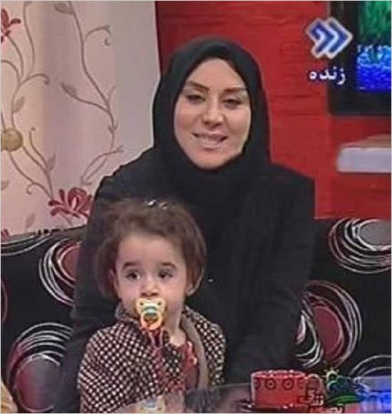 نغمه مهرپاک همسر رضا رشیدپور