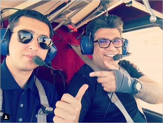 رضا رشیدپور خلبان