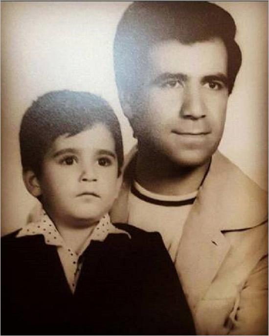 رضا رشیدپور و پدرش