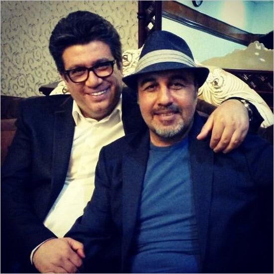 رشیدپور و رضا عطاران