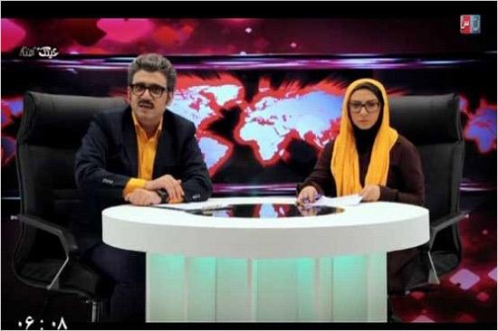 رشیدپور در برنامه طنز عینک آفتابی