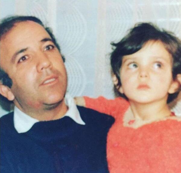 لیلا اوتادی و پدرش