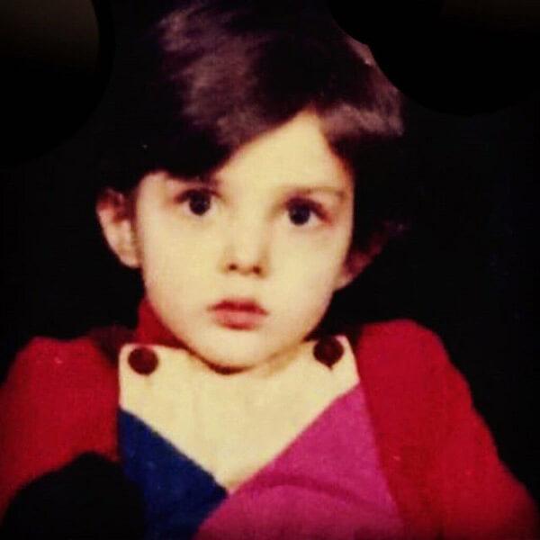 لیلا اوتادی در کودکی