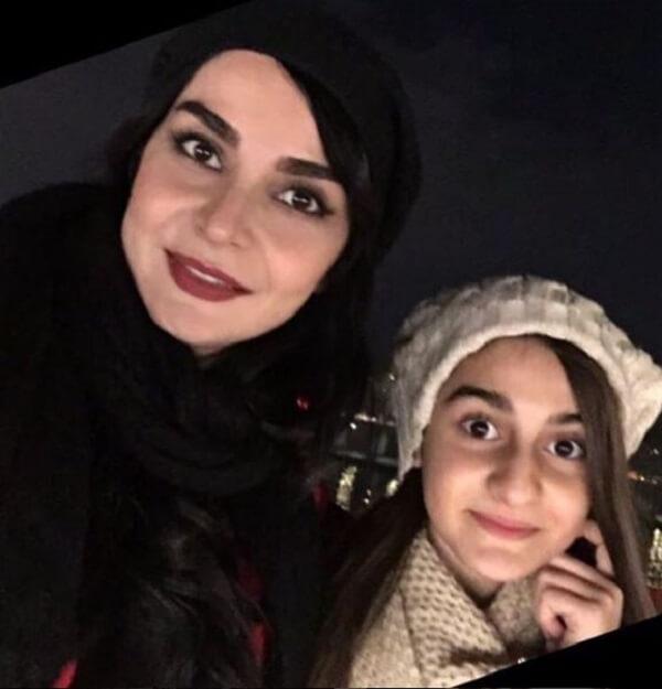 مهدیه نساج و دخترش ملینا