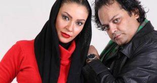 پیام صابری همسر زیبا بروفه بر اثر ایست قلبی درگذشت