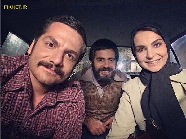 سلمان فرخنده ، عباس غزالی ، مهدیه سراج در سریال مینو