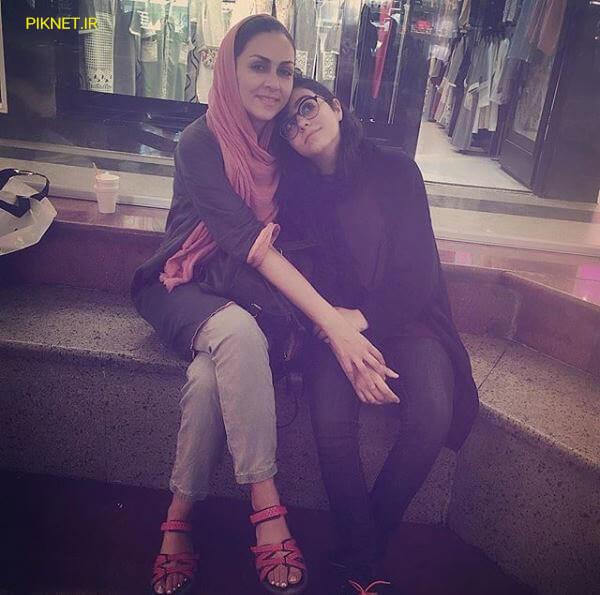 شیوا ابراهیمی و دخترش نفس خدایاری