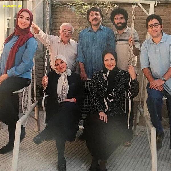 ناصر سجادی حسینی و دیگر بازیگران سریال لحظه گرگ و میش