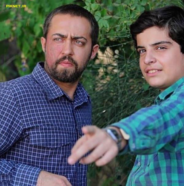 حمید شریف زاده در سریال بچه مهندس