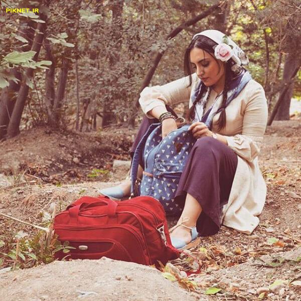 کیمیا اکرمی و همسرش