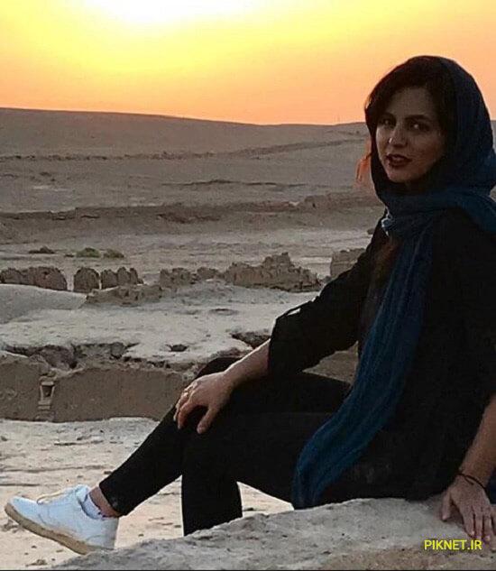 نیلوفر کوخانی بازیگر نقش سعیده در سریال تاریکی شب روشنایی روز