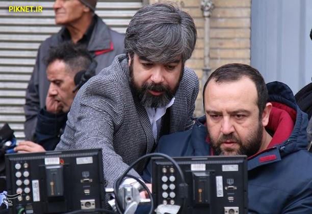 حامد عنقا و بهرنگ توفیقی تهیه کننده و کارگردان سریال بر سر دوراهی