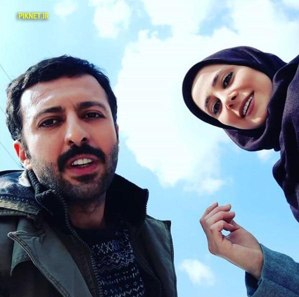 حسام محمودی و الناز حبیبی بازیگران سریال دلدار
