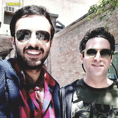 حسام محمودی و هوتن شکیبا