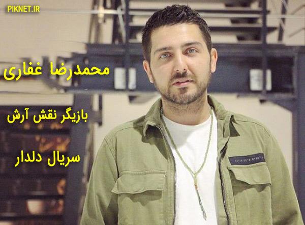 بیوگرافی محمدرضا غفاری بازیگر نقش آرش در سریال دلدار + عکس