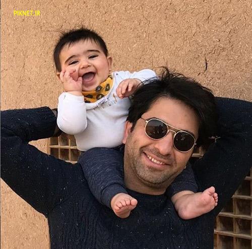 محمد معتمدی و پسرش