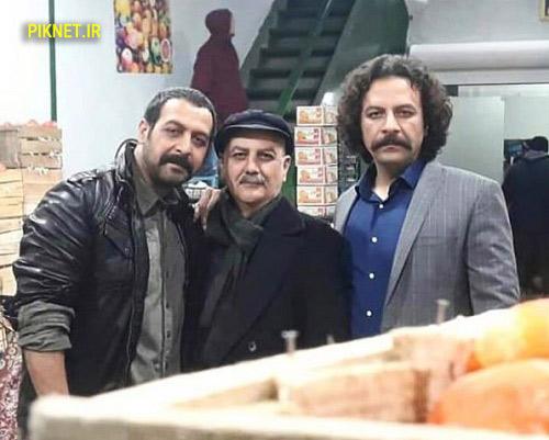 کامران تفتی ، حسام منظور و جلیل فرجاد بازیگران سریال برادر جان