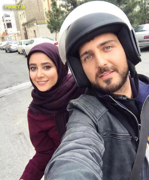 غفاری و الناز حبیبی در سریال دلدار