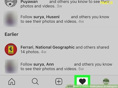 چگونه اعلان های اینستاگرام را حذف کنیم ؟