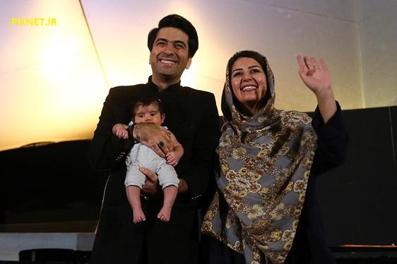 محمد معتمدی و همسرش