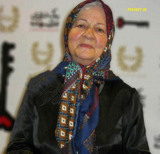 رابعه مدنی در لباس مادربزرگ مهربان