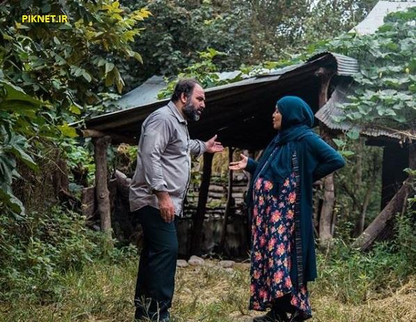 اسماعیل موحدی و لبخند بدیعی بازیگران سریال خانواده دکتر ماهان