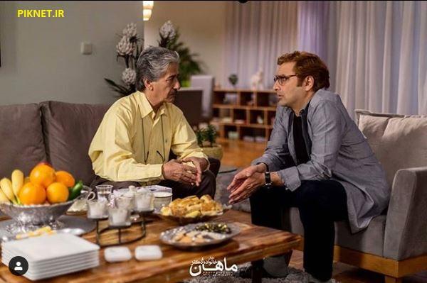 امین زندگانی و بهرام شاه محمدلو در نمایی از سریال خانواده دکتر ماهان