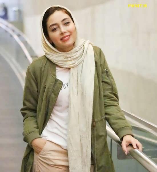 دیبا زاهدی بازیگر سریال نهنگ آبی