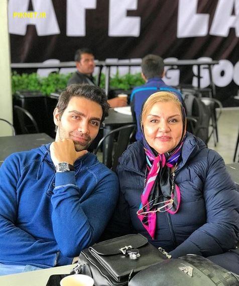 شهاب شادابی و مادرش
