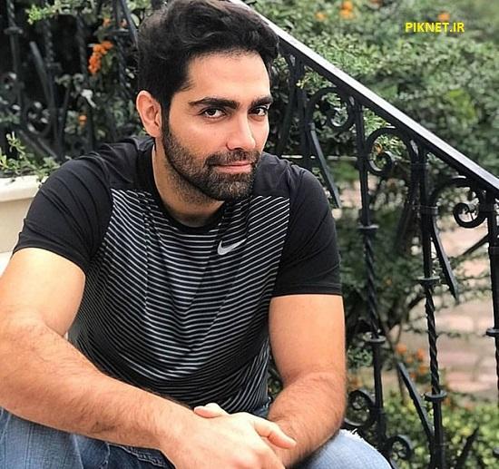شهاب شادابی بازیگر سریال بوی باران