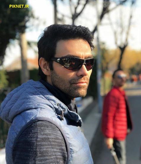 شهاب شادابی بازیگر نقش سهیل در سریال بوی باران - عروس تاریکی