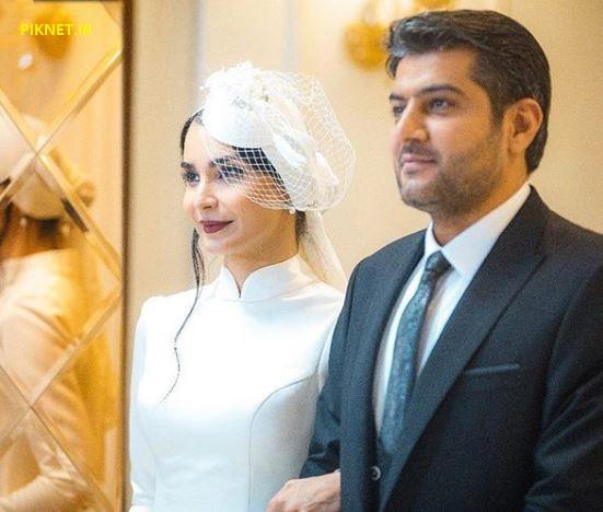 عکس مراسم ازدواج سامرند معروفی و مهدیه نساج