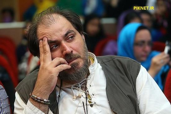 سید مهرداد ضیایی از بازیگران سریال عروس تاریکی
