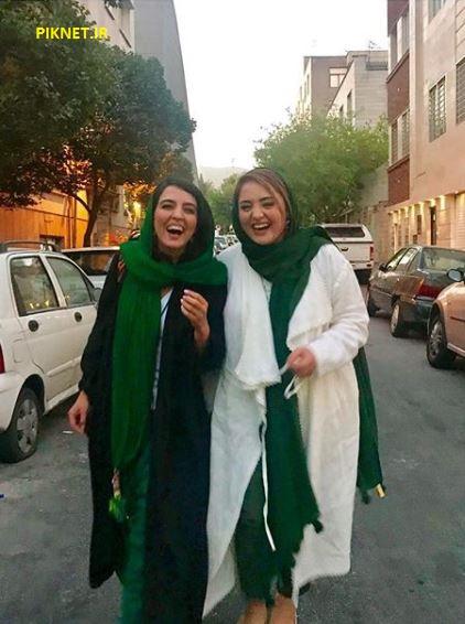 نرگس محمدی و خواهرش سارا
