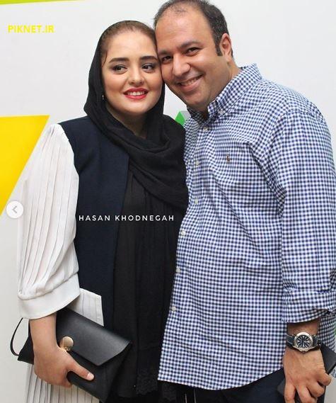 نرگس محمدی بازیگر سریال بوی باران