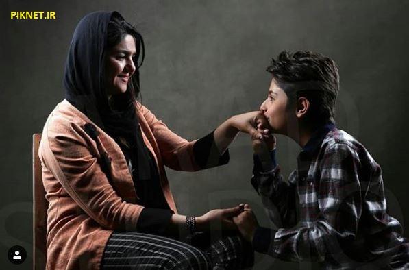 ژیار محمدزاده و مادرش