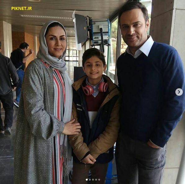 ژیار محمدزاده در سریال خانواده دکتر ماهان