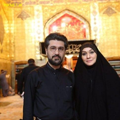 امیرحسین مدرس و همسر دومش