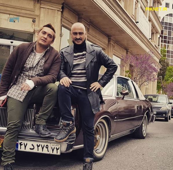 سعید رضایی و محمدرضا هاشمی در سریال بوی باران