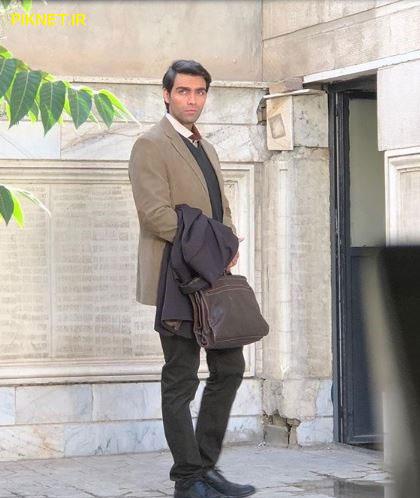 شهاب شادای در سریال بوی باران