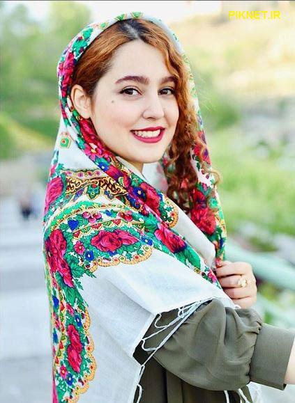 مهسا هاشمی بازیگر سریال بوی باران