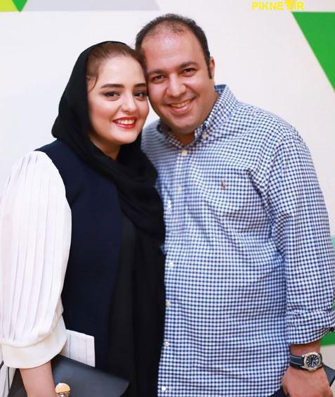 نرگس محمدی و علی اوجی
