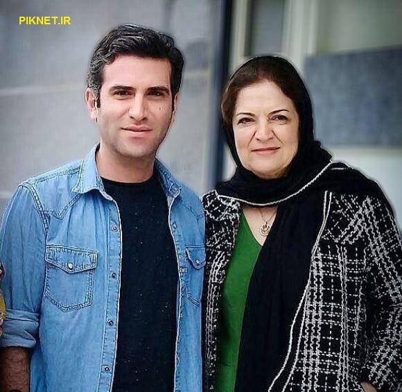 هوتن شکیبا و مادرش