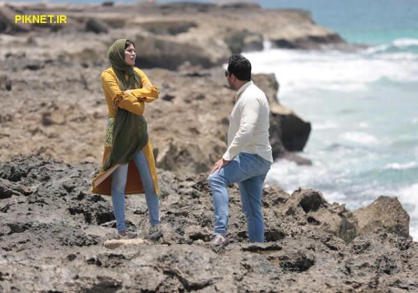 پوریا پور سرخ و شیوا طاهری در سریال ریکاوری